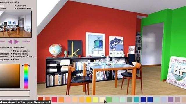 avec notre simulateur deco en ligne trouvez vos couleurs et revetements poru les murs et les sols de vos pieces salon cuisine salle de bains chambre