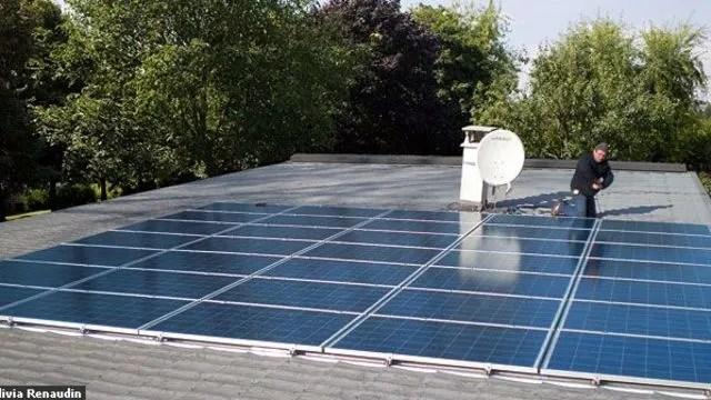 Jai mis des panneaux solaires sur mon toit  Ct Maison