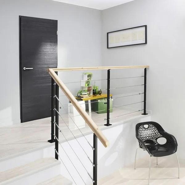 Plan Interieur Diaporama Rampe D Escalier Et Escalier Bois Alu Quart Tournant L