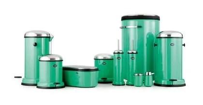 Agrandir Total Look Vert Avec Ces Accessoires De Salle De Bains