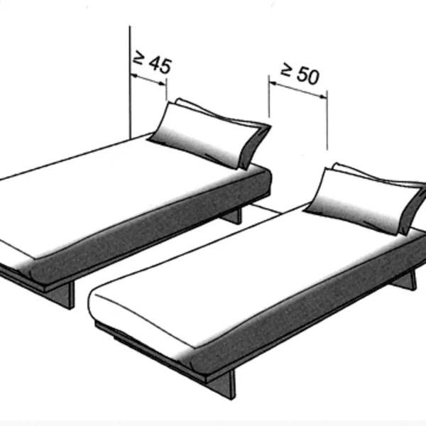 plan chambre ou mettre le lit dans la