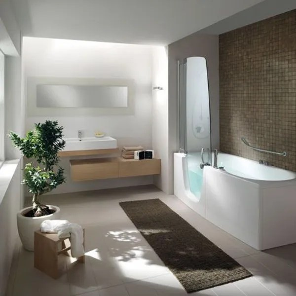 bain et douche un spa dans la salle