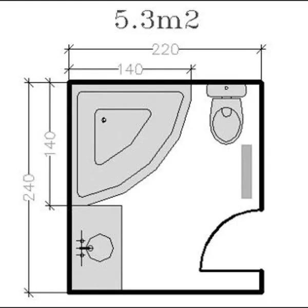 18 Plans De Salle De Bains De 5 11 M2 Dcouvrez Nos