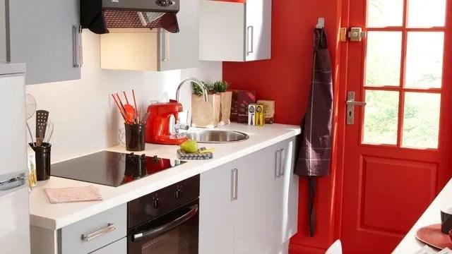 peinture rouge cuisine rouge chambre