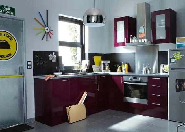 Implantation cuisine type idal  tout sur les cuisine en L U I parallle lot  Ct Maison