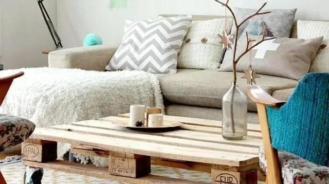 palette en bois deco cote maison