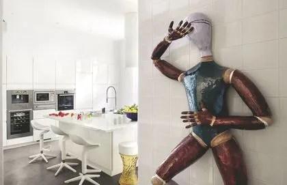 Cuisine Atelier Cuisine Industrielle Ct Maison