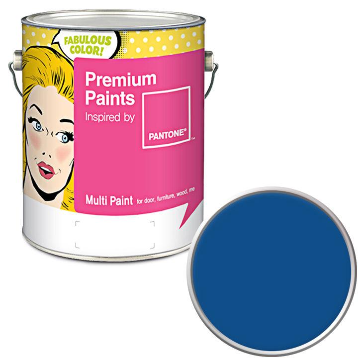 노루페인트 팬톤멀티 1L 단품 클래식블루 19-4052, 단일 색상