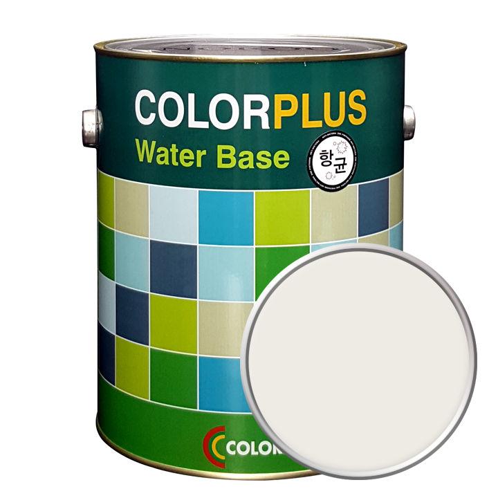 노루페인트 컬러플러스 페인트 4L, 미스틱화이트