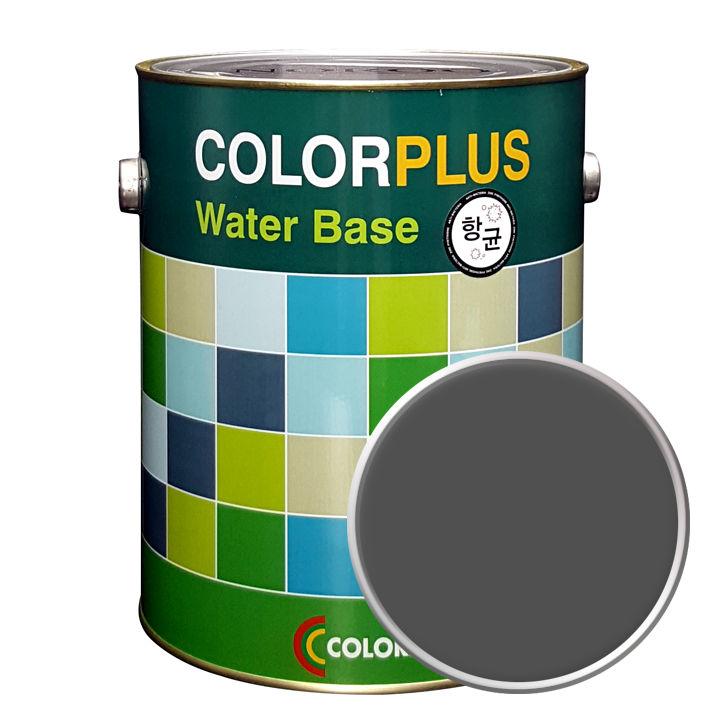 노루페인트 컬러플러스 페인트 4L, 스틸그레이