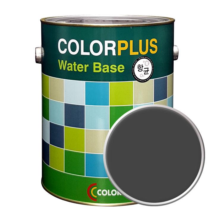 노루페인트 컬러플러스 페인트 4L, 다크그레이
