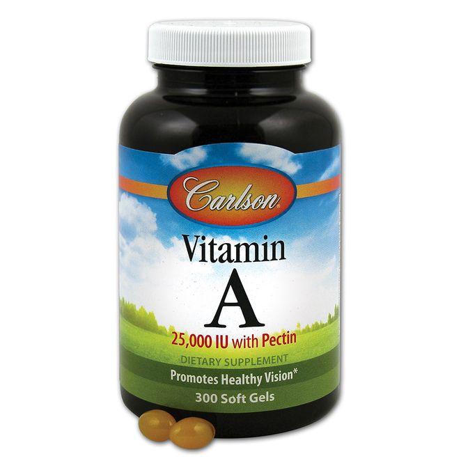 칼슨랩스 비타민 A 25000IU 펙틴 소프트젤, 300개입, 1개