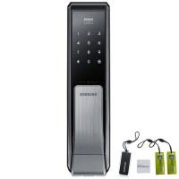 삼성SDS 스마트 디지털 푸시풀 손잡이 도어록 SHP-DP710 + 카드키 + 스마트키태그 + 걸이형 카드키 2p (TOP 68146527)