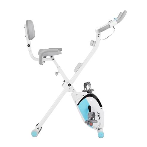 렉스파 접이식 제로바이크 헬스자전거 YA-150, 스카이블루