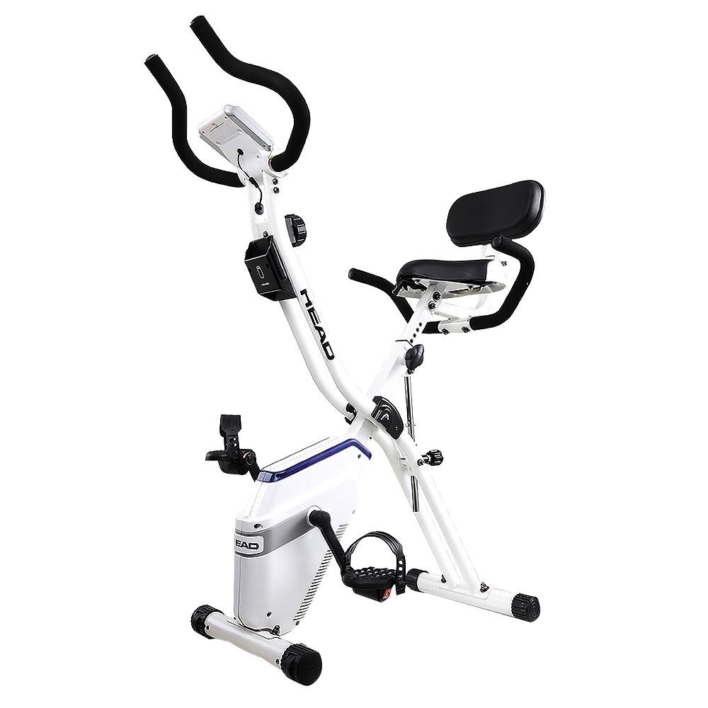 헤드 접이식 헬스 자전거, 3980, 화이트 + 네이비