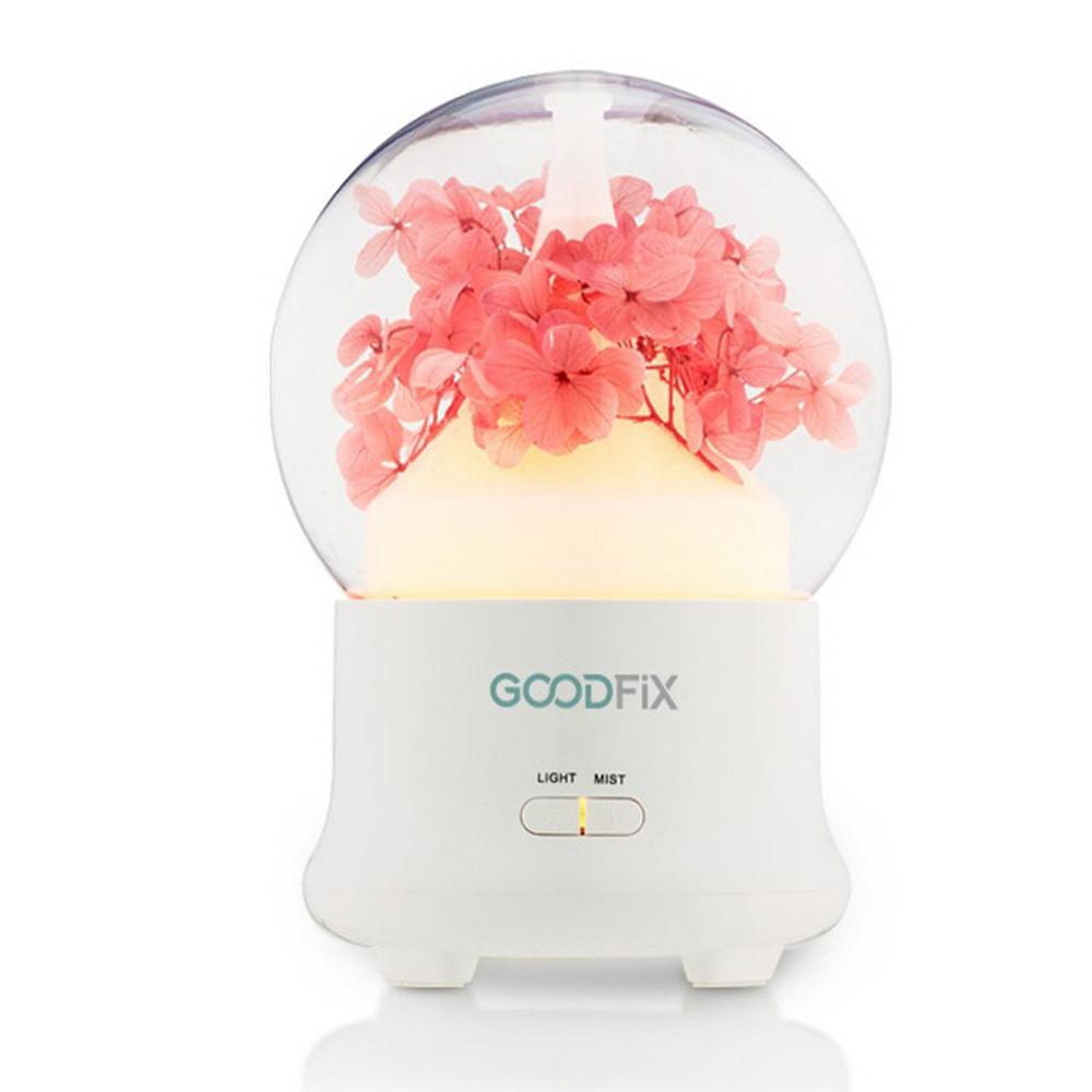 굿픽스 블라썸 미니가습기 벚꽃, GD-F01(핑크)