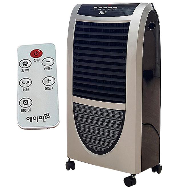 에이핀 리모콘형 PTC 스탠드 온풍기 전기히터, AF-2800H, 혼합 색상