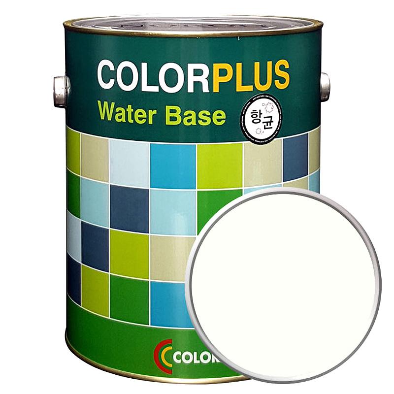 노루페인트 컬러플러스 페인트 4L, 크림화이트