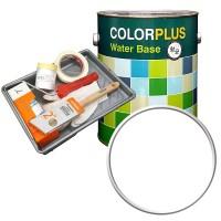 노루페인트 컬러플러스 페인트 4L + 도구세트, 퓨어화이트 (TOP 15024080)