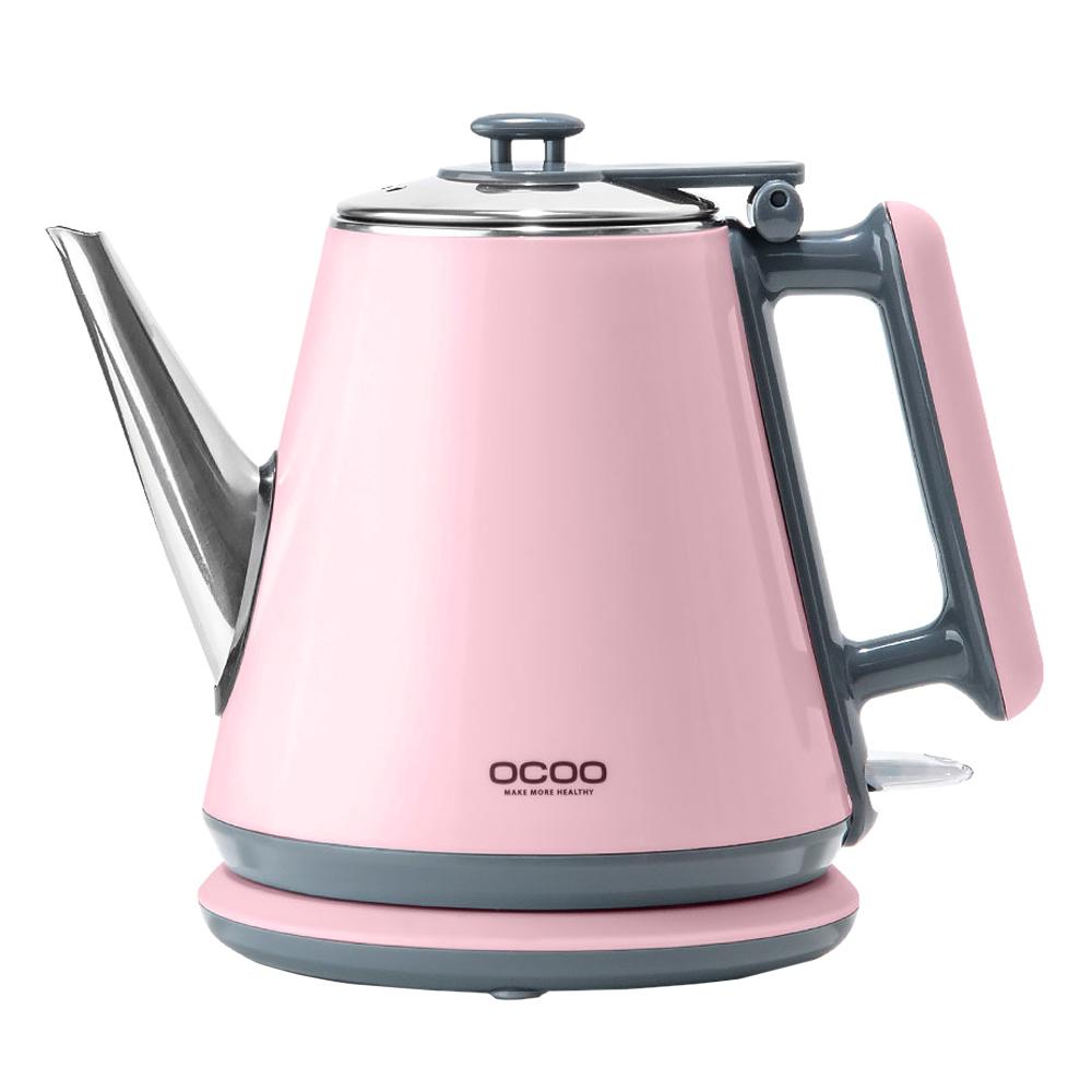 오쿠 쿨터치 무선 커피포트 핑크, OCP-TP100P(핑크)