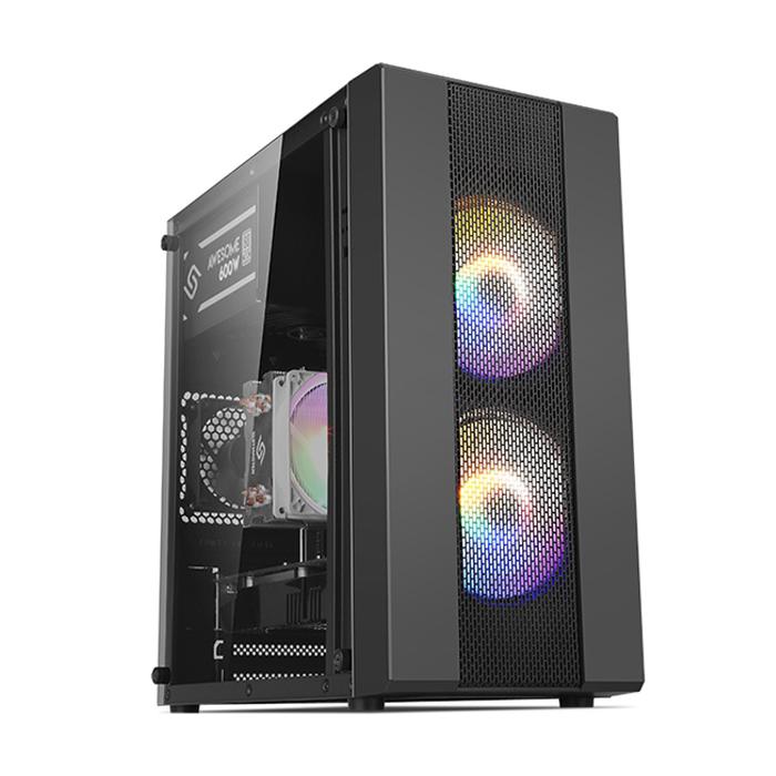 컴맹닷컴 조립PC CMA260C-R55H (라이젠5 2600 피나클릿지 WIN10 DDR4 8GB SSD240GB RX550), 기본형