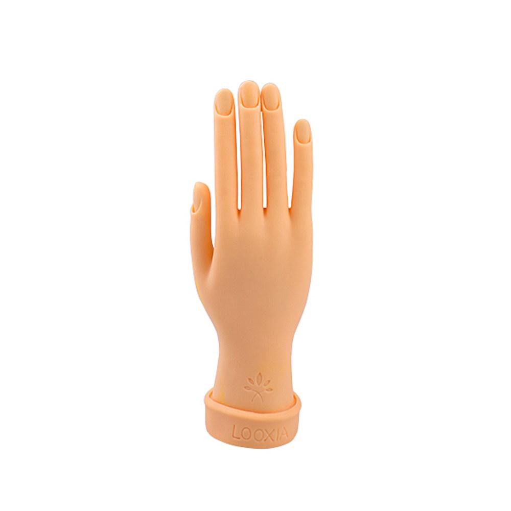 에스제이네일 인조손 일반 오른손, 단일 색상, 1개