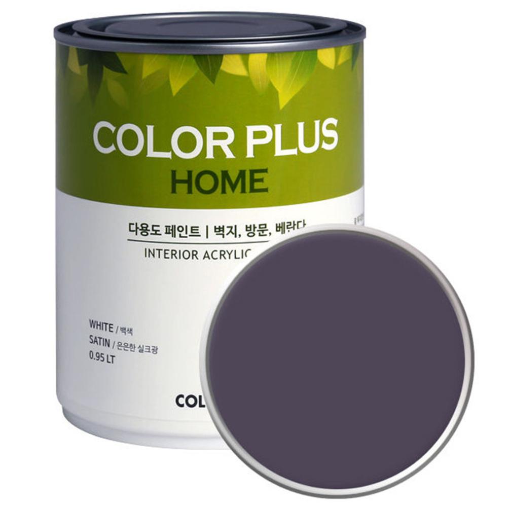 노루페인트 컬러플러스 홈 페인트 1L, 드라이그레이프 (SP8100)