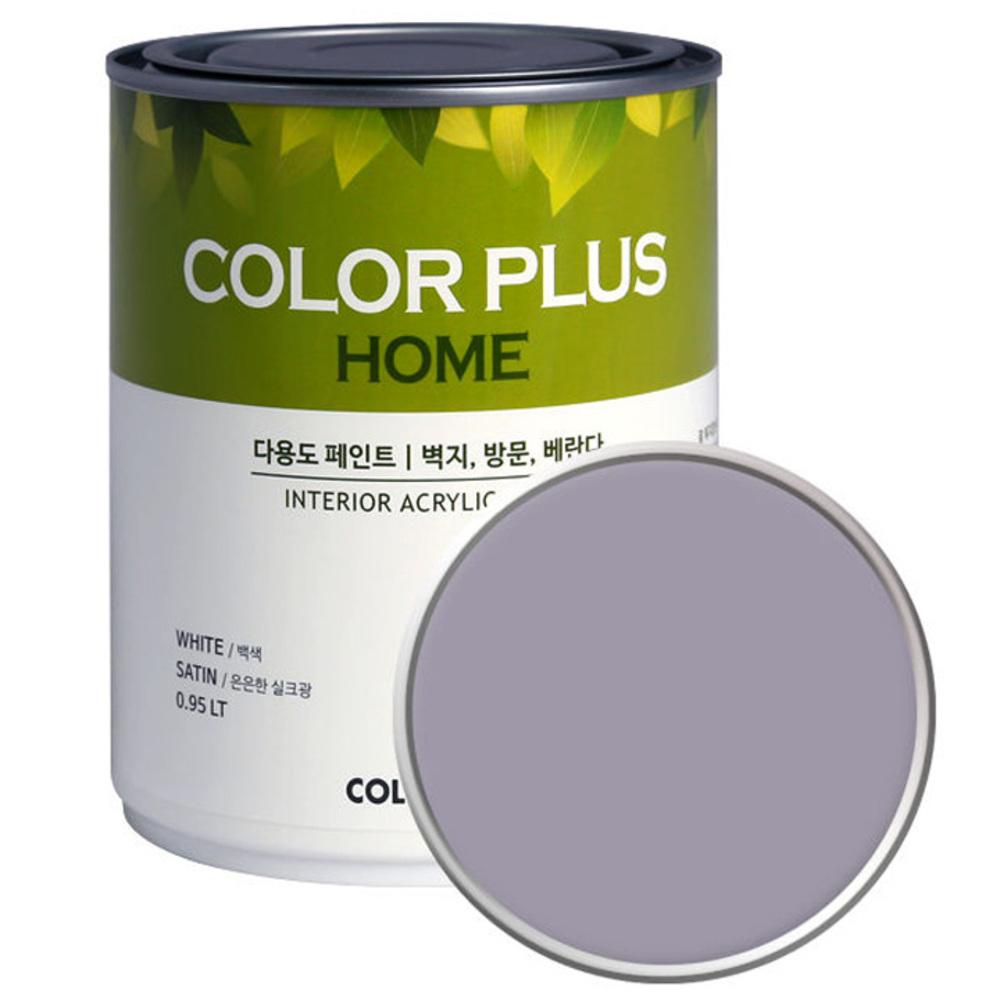 노루페인트 컬러플러스 홈 페인트 1L, 비올라 (SP8030)