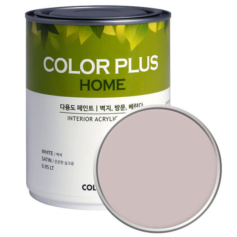 노루페인트 컬러플러스 홈 페인트 1L, 파스텔블라썸 (SP2090)