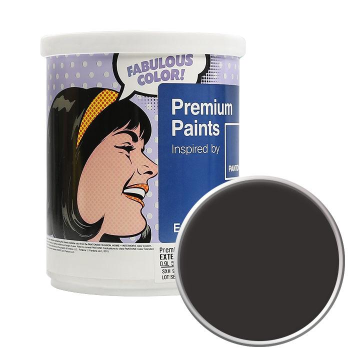 노루페인트 팬톤 외부용 실외 저광 페인트 1L, 19-1101 After Dark