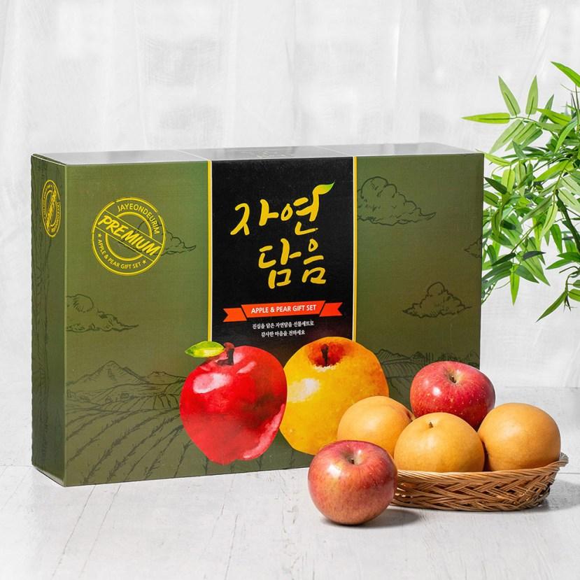 자연담음 사과 배 혼합 선물세트, 5.6kg 내외, 1세트