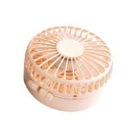 더오픈하우스 25000 180도 회전 목걸이형 핸디 선풍기, avec-35, 파스텔 핑크 (POP 228717730)