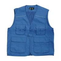 워크맨 산업용 등야광 조끼 블루, 1개 (TOP 1098403237)