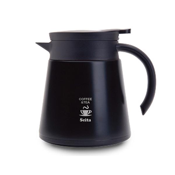 니드코 세이타 커피&티 서버포트 800ml, 블랙