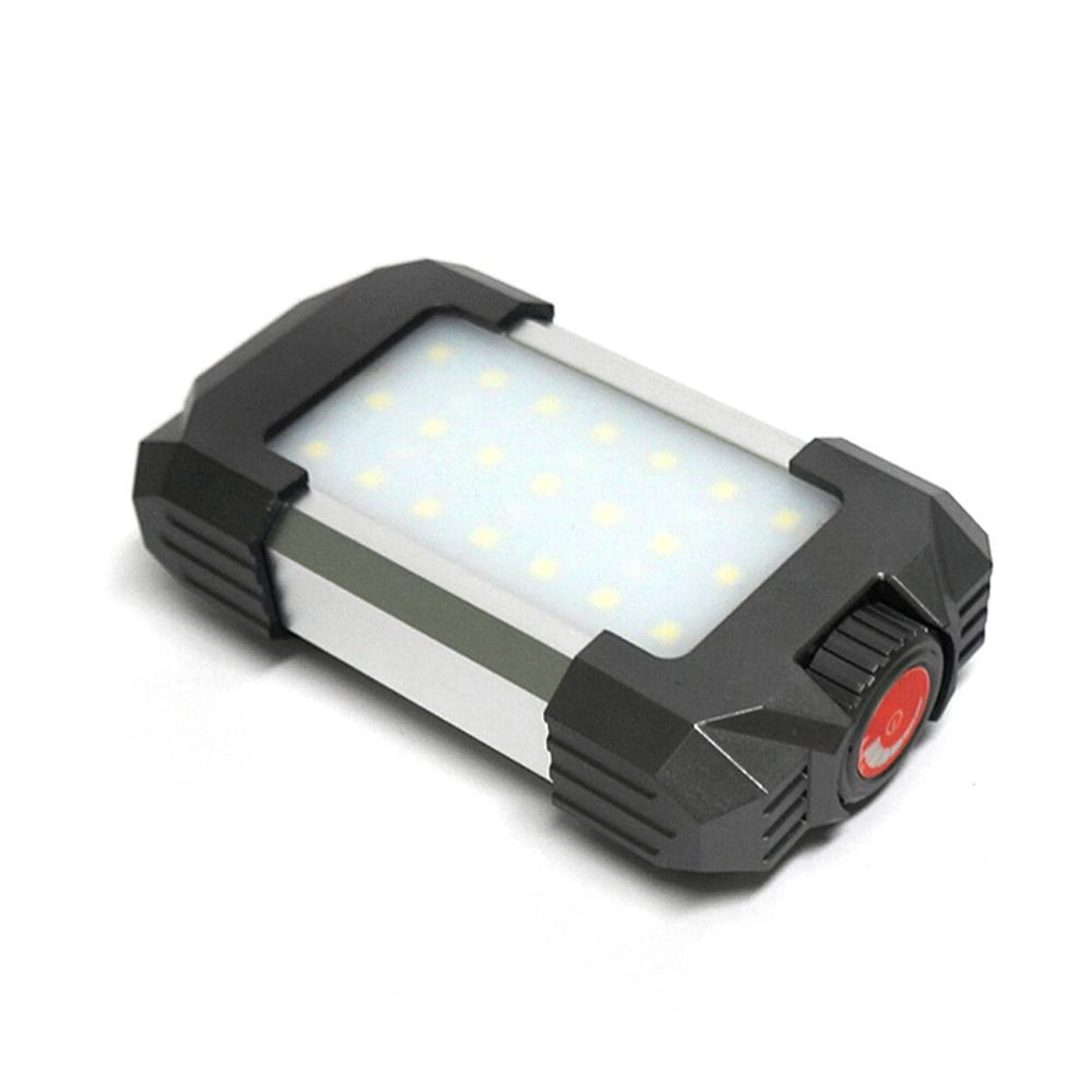 무선충전 파워 LED캠핑랜턴, 혼합색상, 1개