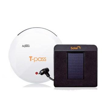 태양광하이패스 - 티패스 무선 하이패스 단말기 TL-720S PLUS + 태양광충전거치대, TL-720S PLUS 화이트