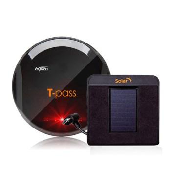 태양광하이패스 - 티패스 무선 하이패스 단말기 TL-720S PLUS + 태양광충전거치대, TL-720S PLUS 블랙