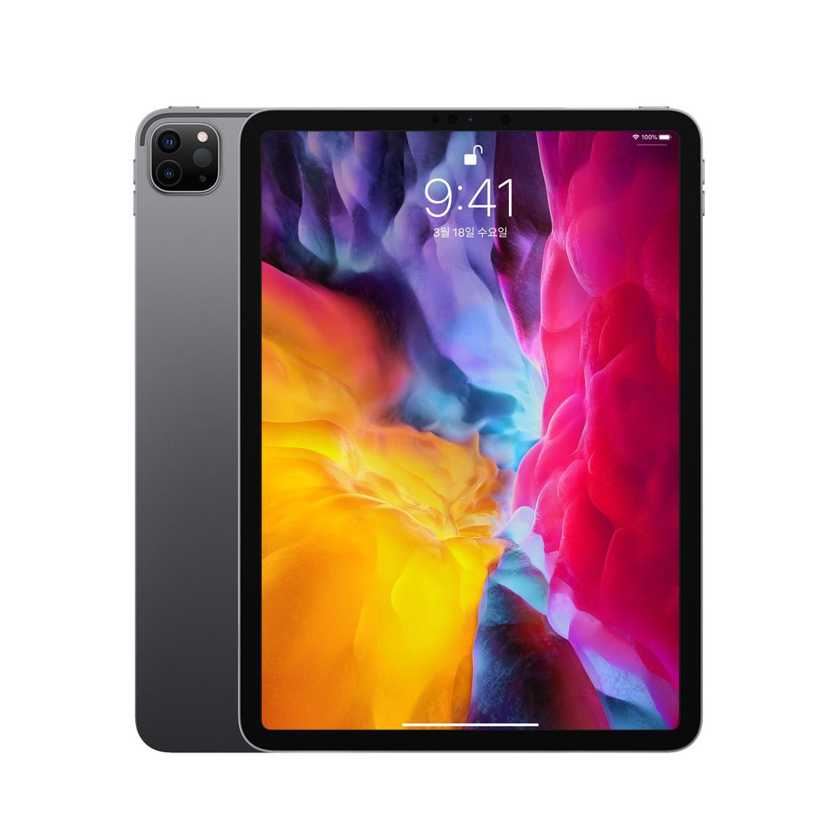 Apple 2020년 iPadPro 11 2세대, Wi-Fi, 128GB, Space Gray