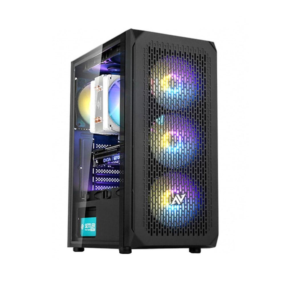 블루컴퓨터 게이밍 조립 컴퓨터 PC(인텔 i5 9400F RTX2060SUPER 삼성 16GB NVMe 256GB) + 장패드, 기본형, 단일상품