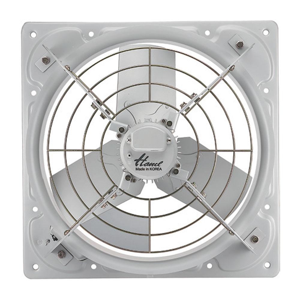 한일전기 산업용 유압형 공업용 축사용 삼상 환풍기 자가설치 규격 510 x 510 mm, EK-5000-T