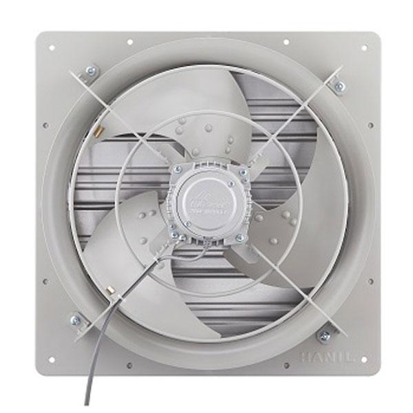 한일전기 셔터일체 유압형 삼상 환풍기 설치규격 450 x 450 mm, EKST-4050-T