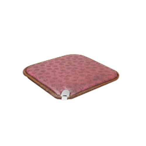 한일온돌왕 온열 전기방석 ji-BS500, 다크와인, 1인용(450 x 450 mm)