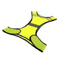야간 라이딩 반사 야광 안전조끼 형광 노랑, 1개 (TOP 2144788902)