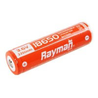 레이맨 18650 배터리 3350mAh 충전지 보호회로형, 1개 (TOP 4326244203)
