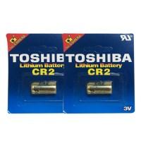 도시바 카메라 CR2 3V 리튬 건전지, 1개, 2개입 (TOP 5398902819)