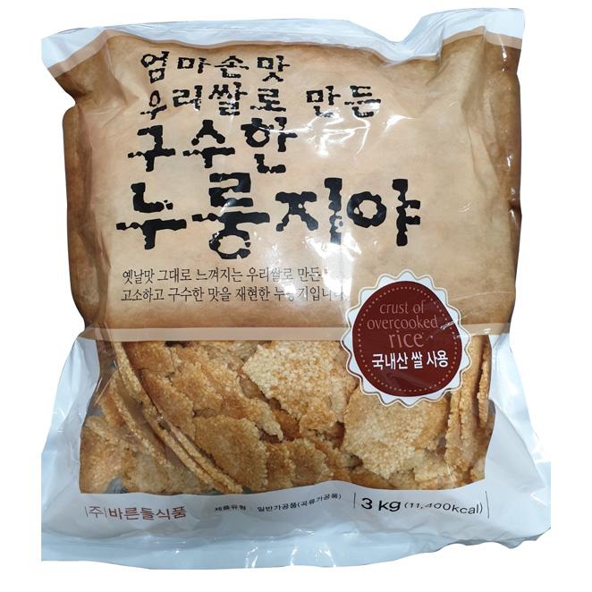 엄마손맛 우리쌀 구수한 누룽지, 3kg, 1개