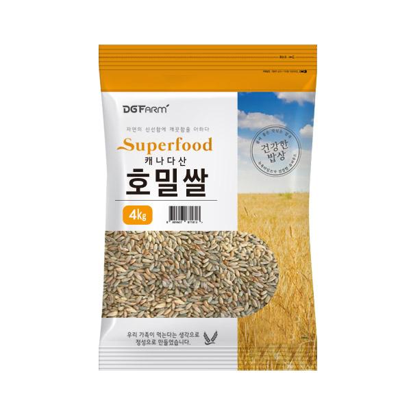 대구농산 캐나다산 호밀쌀, 4kg, 1개
