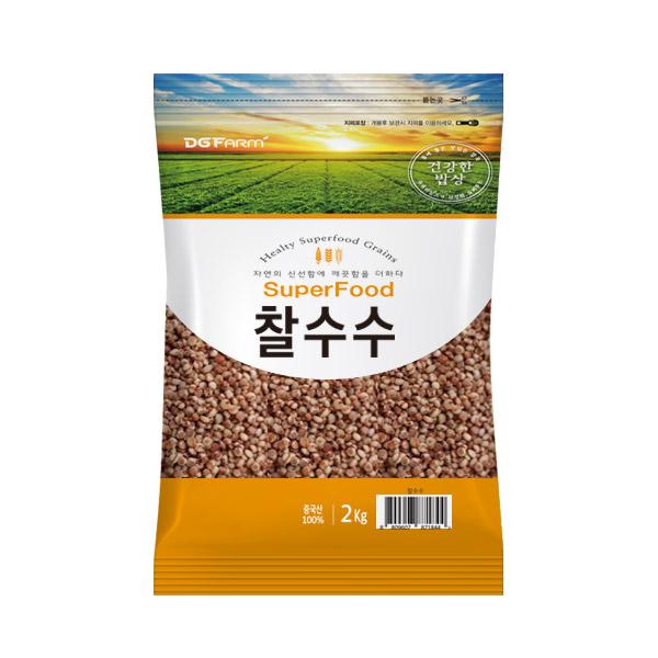 대구농산 찰수수쌀, 2kg, 1개
