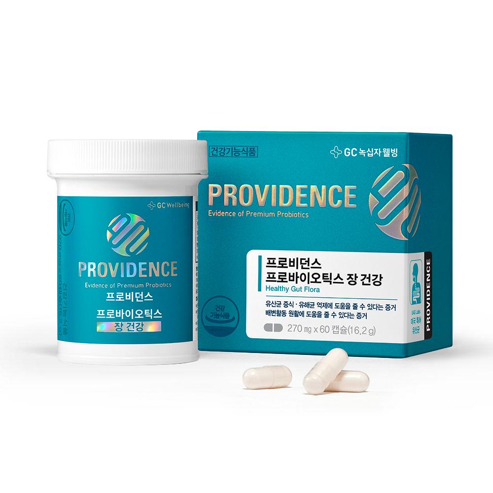 GC녹십자웰빙 프로비던스 프로바이오틱스 장 건강, 60개입, 1개