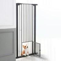 피카노리 반려동물 안전문 대형, 블랙 (TOP 273983604)